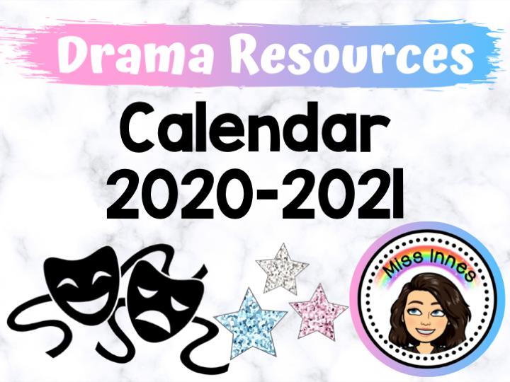Printable Class Calendar 2020-2021