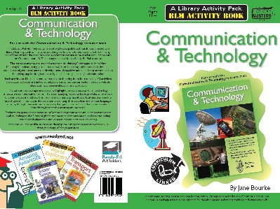 Library Activity Pack: Communication and Technology Activity Book