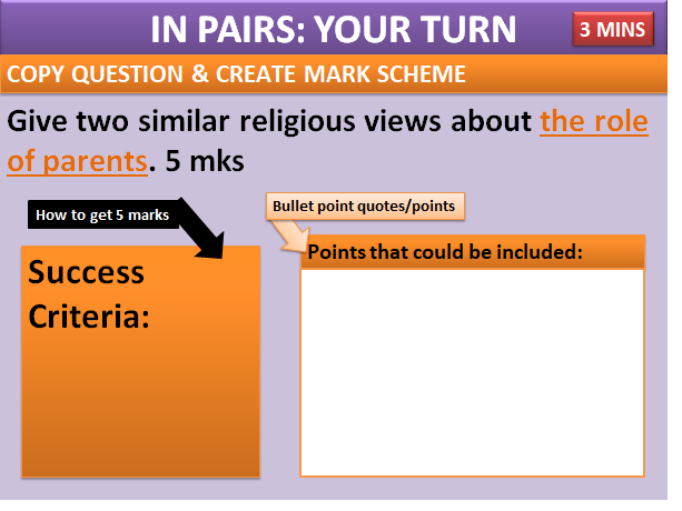 AQA RELIGIOUS STUDIES: RELATIONSHIPS: FAMILY TYPES AND ROLES  (Humanism/Islam/Christianity)