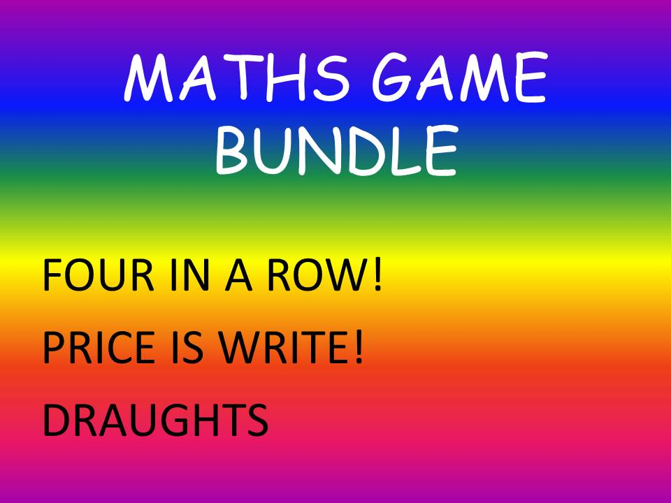 MATHS GAME BUNDLE