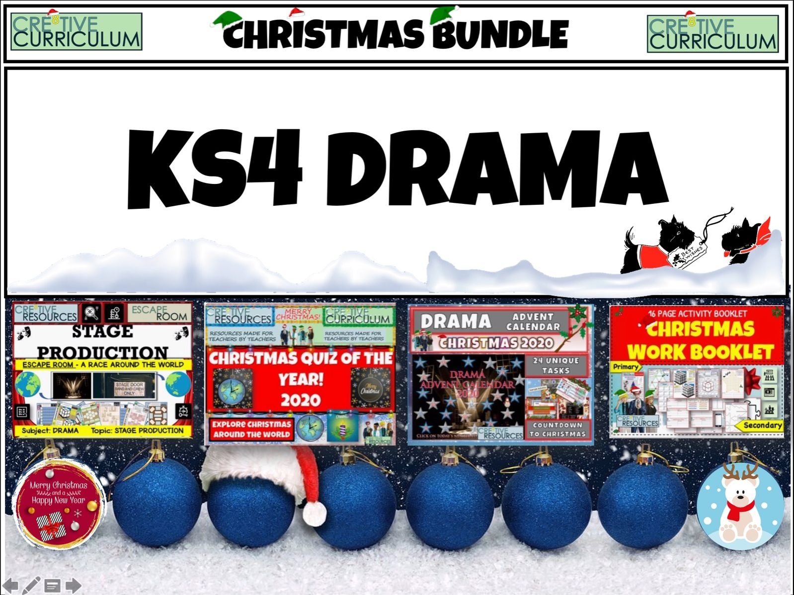 KS4 Drama Christmas Bundle