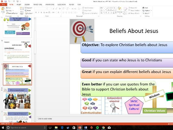 WJEC Eduqas: Christianity: Beliefs About Jesus / Who Was Jesus?
