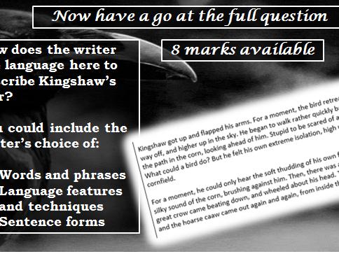 AQA Language Paper One Complete Scheme