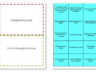 Safeguarding Sort Activity - 45 cards