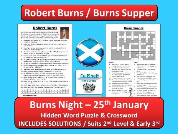 Robert Burns (Burns Supper / Burns Night)