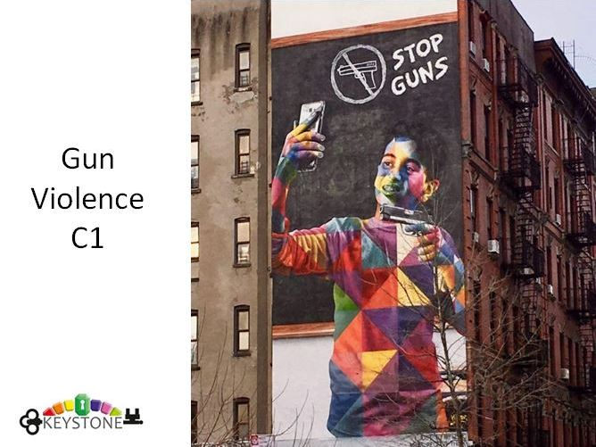 Gun violence c1 speaking powerpoint