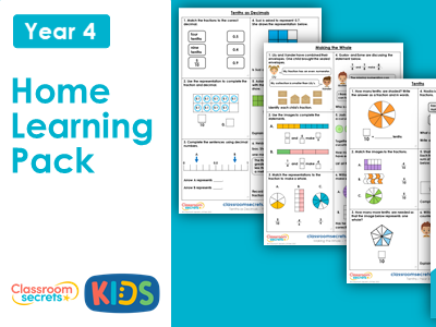 Year 3 Summer Week 1 Home Learning Maths Pack