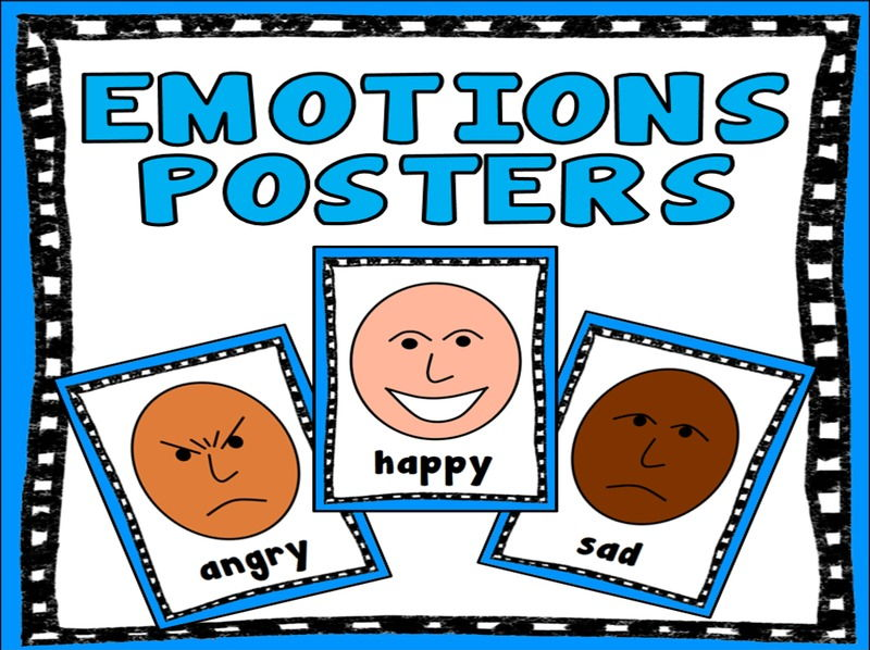 EMOTIONS POSTERS - MULTICULTURAL