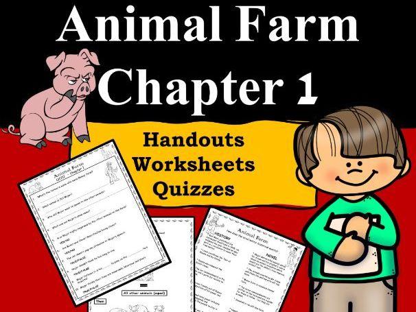 Animal Farm Ch1 PDF/Google Slides