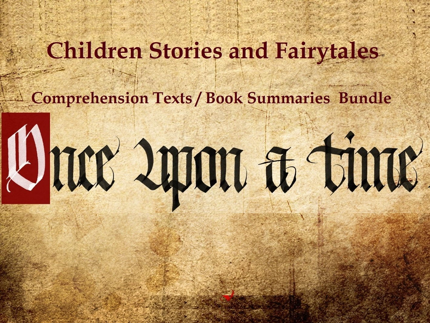 Children Stories and Fairytales - Comprehension Texts / Book Summaries  Bundle (SAVE  75%)