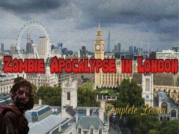 Zombie Apocalypse in London (+ English Starters)