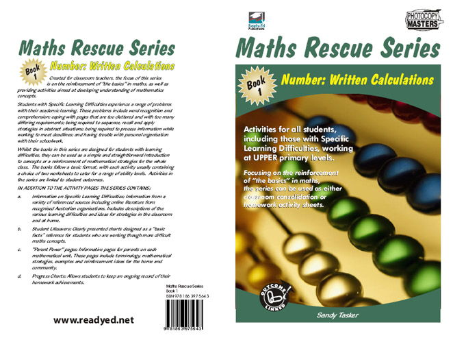 Maths Rescue 1 – Number: Written Applications (Australian E-book for students at risk)