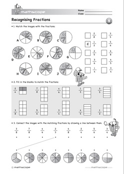 Fractions: Recognising Fractions