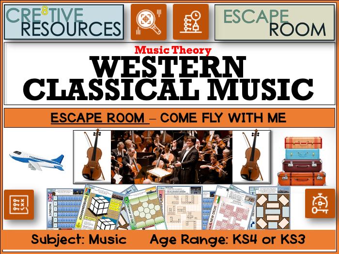 Western Classical Music Escape Room