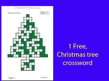 Equivalent Ratio Christmas (Pooch Puzzles)