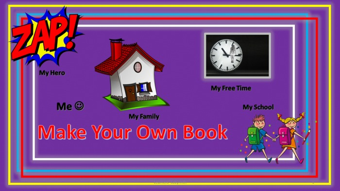Learning at home- My Own Book- Writing for KS1