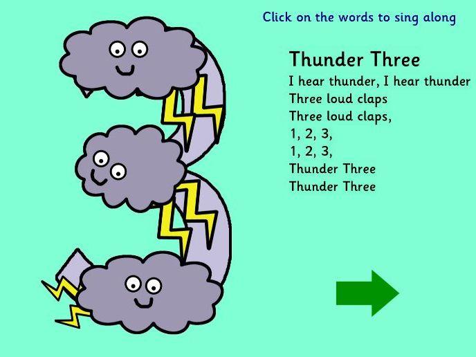Numberland Thunder Three
