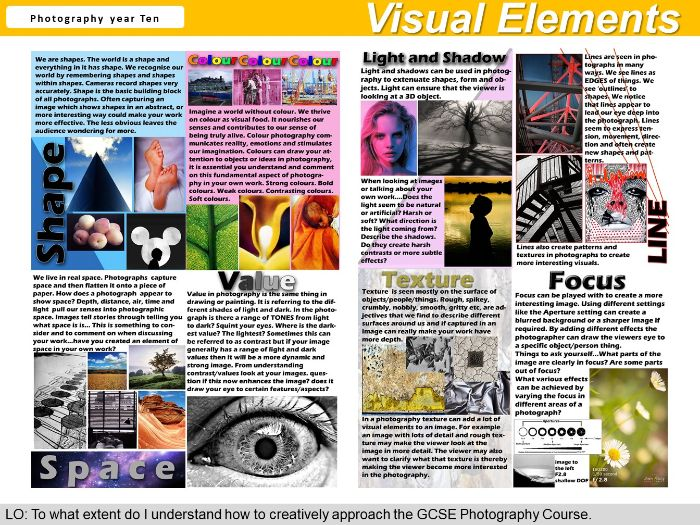 Photography - Visual Elements- Handout