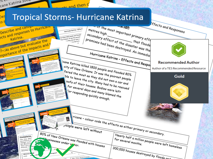 Hurricane Katrina - The cause, effects and responses to the disaster