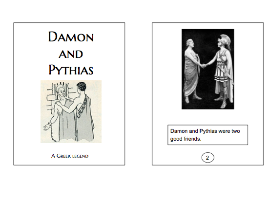 Damon and Pythias Folklore Easy Reader Kit, A Greek Legend