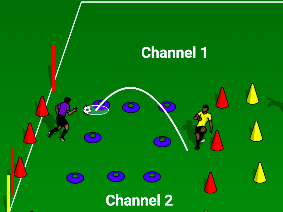 KEY STAGE 2-4 SOCIAL DISTANCE FOOTBALL GAMES