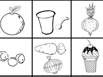 Food Alphabet Activity