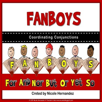 Conjunction Posters - Coordinating Conjunctions {FANBOYS}