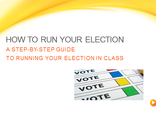 Run your own election in class - Election, Politics, Government, Voting, General Election 2017