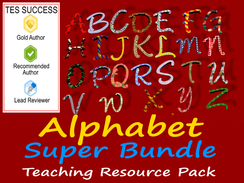 Alphabet Bundle : Make Learning The Alphabet Fun!