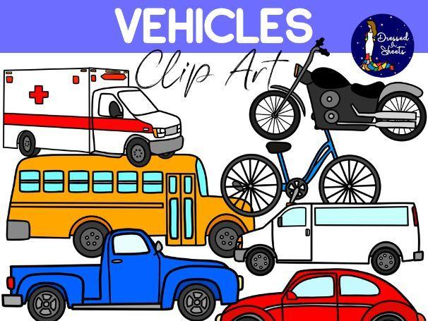 Vehicles Clip Art