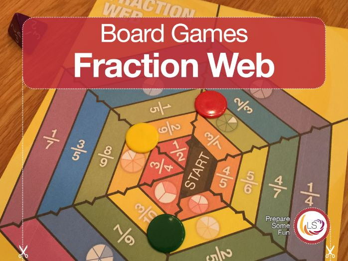 FractionWeb Board Game
