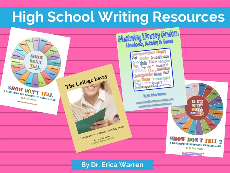 High School Writing Resources