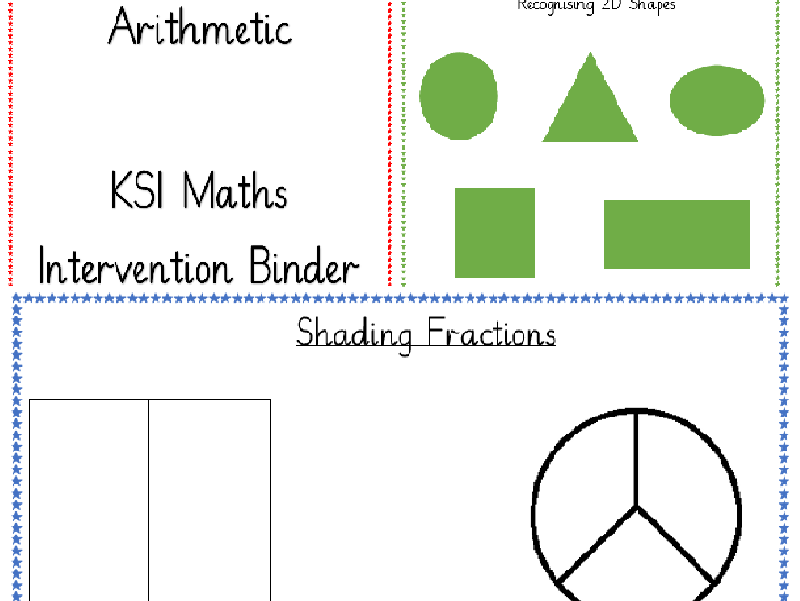 Complete KS1 Maths Intervention Binder