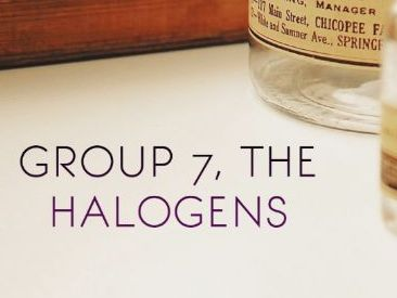 A Level Chemistry - Group 7 Halogens - Lesson / Revision