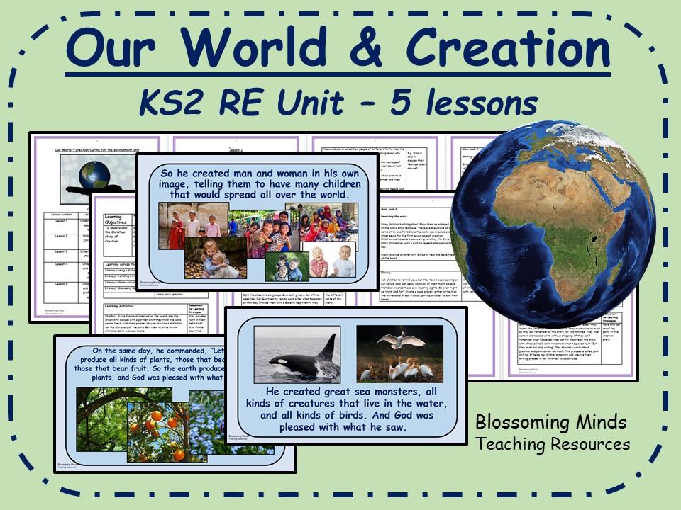 KS2 RE unit - Creation/Our World