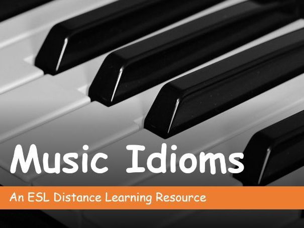Music Idioms. Distance Learning
