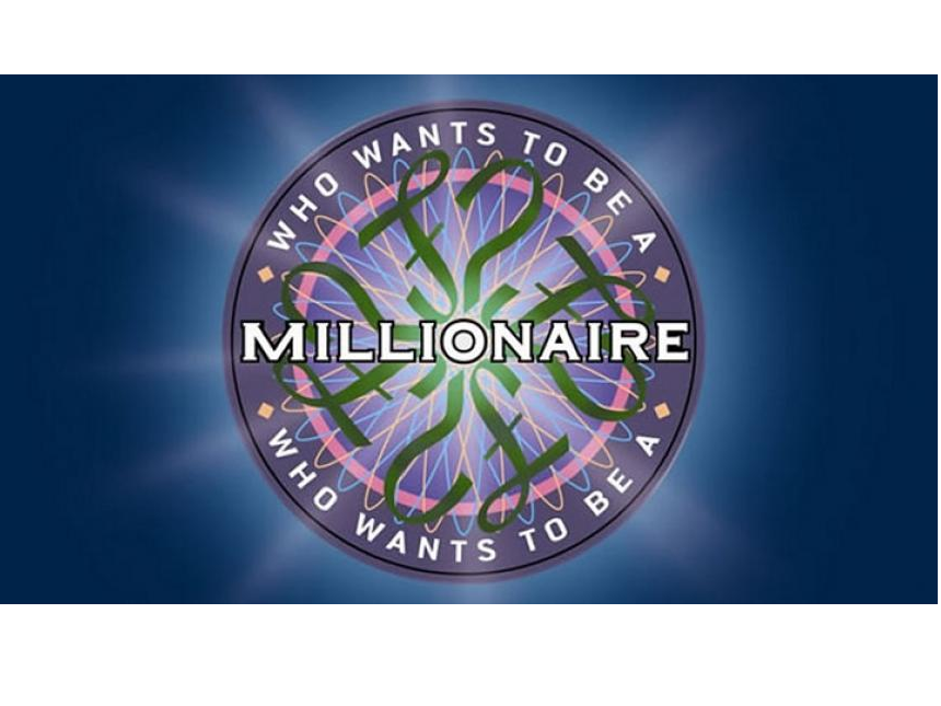Numeracy Who Wants to Be a Millionaire