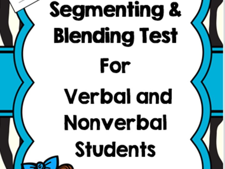 Segmenting and Blending Test