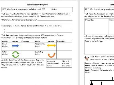 Year 8 Design and Technology booklet and PPT in line with new 1-9 GCSE