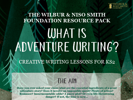 Adventure Writing - creative writing, reading comprehension and writing composition