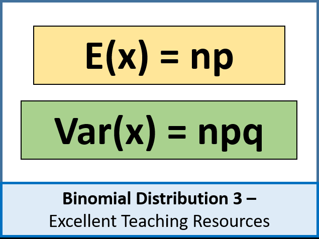 Statistics: Binomial Distribution 3: Expectation and Variance