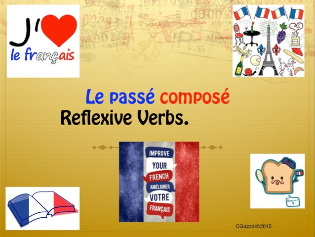 A Complete Guide to Reflexive Verbs in the Perfect Tense/ Passé Composé.