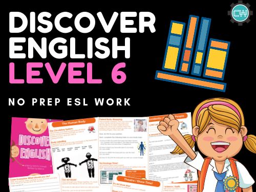 Discover English - Level 6