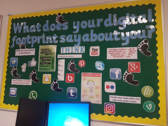 Display - What does your digital footprint say about you?
