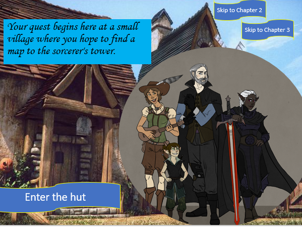 English Fantasy Adventure: the Curse of the Tower
