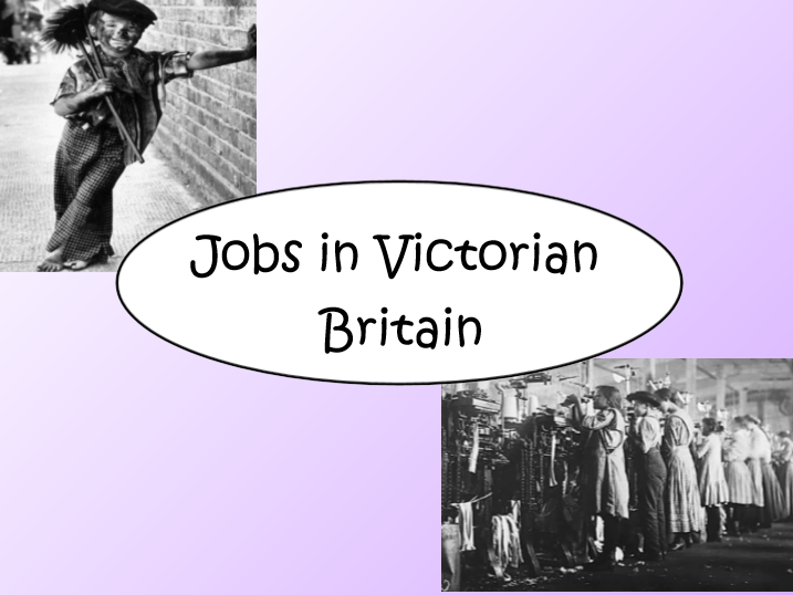 Jobs in Victorian Britain