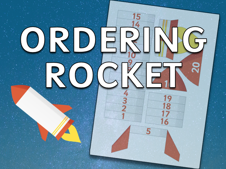 Ordering to 20 Rocket (EYFS)