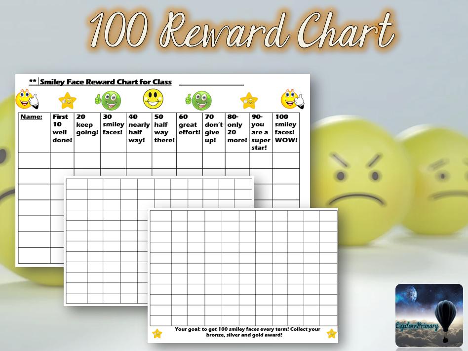 100 Reward Chart