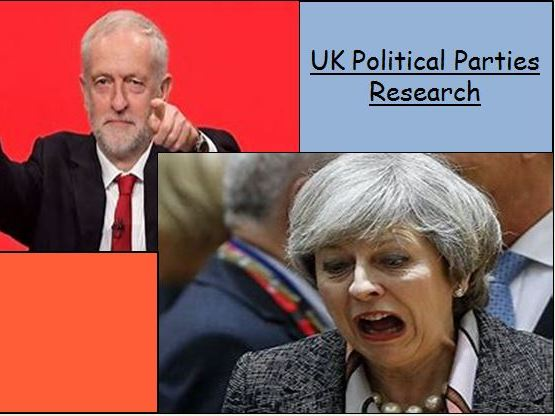UK Political Party Research (KS3)