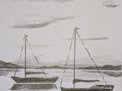 Learn to draw boats on the water
